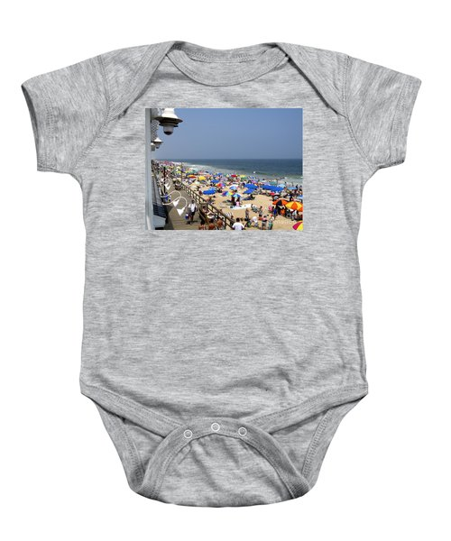 Good Beach Day At Bethany Beach In Delaware Baby Onesie