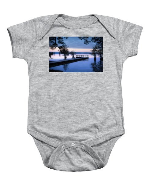 Good Morning For Fishing Baby Onesie