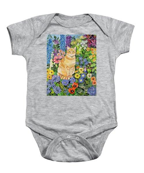 Gordon S Cat Baby Onesie