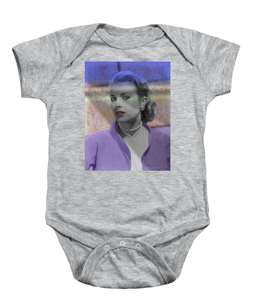 Grace Kelly - Featured In Comfortable Art Group Baby Onesie by EricaMaxine  Price