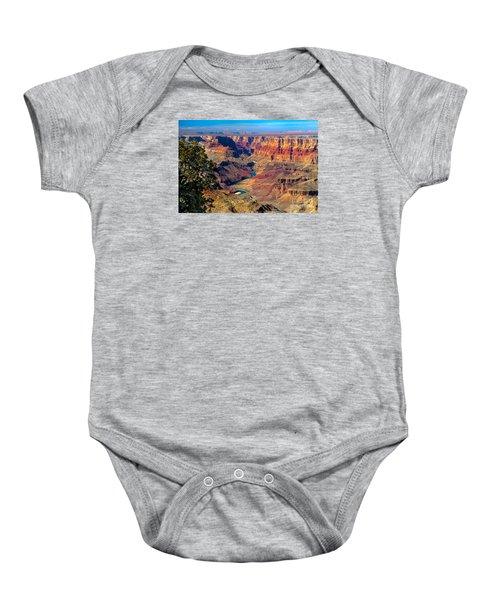 Grand Canyon Sunset Baby Onesie