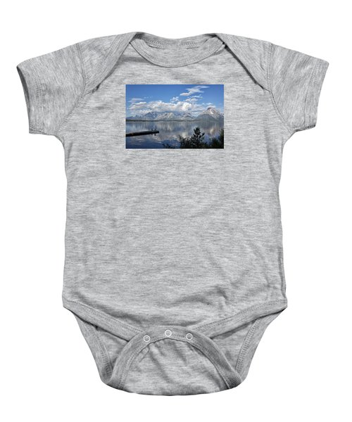 Grand Tetons In The Morning Light Baby Onesie