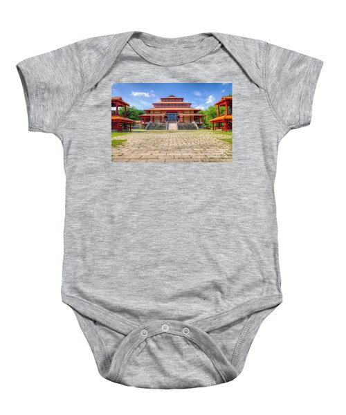 Great Buddha Hall Baby Onesie