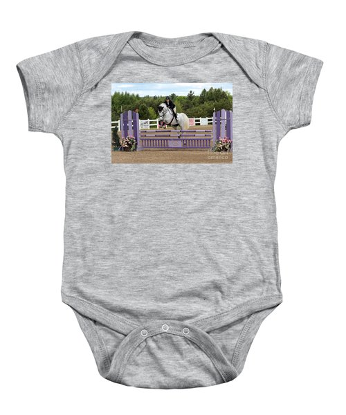 Grey Jumper Baby Onesie