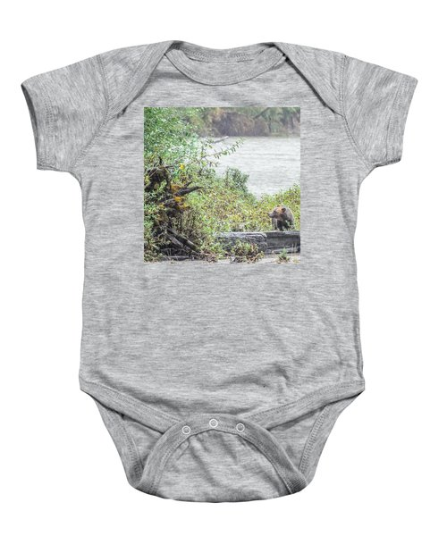 Grizzly Bear Late September 2 Baby Onesie