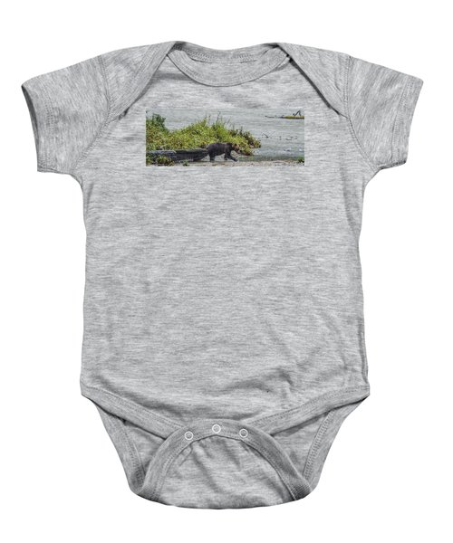 Grizzly Bear Late September 4 Baby Onesie