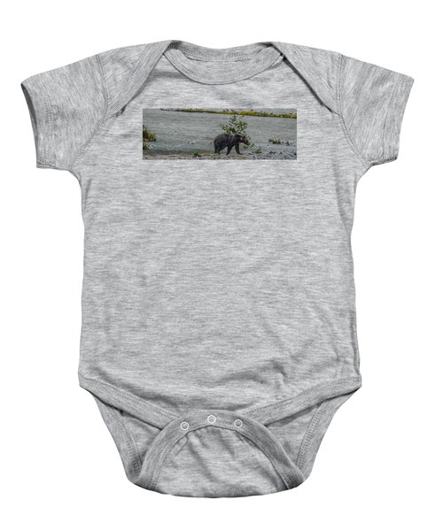 Grizzly Bear Late September 5 Baby Onesie