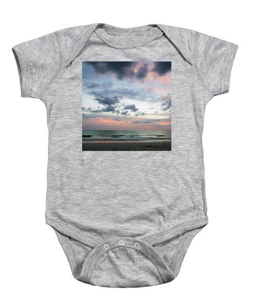 Gulf Of Mexico Sunset Baby Onesie