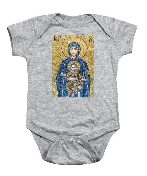 Hagia Sofia Mosaic 05 Baby Onesie