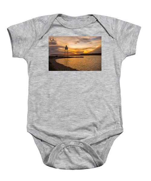 Harbor Sunrise Baby Onesie