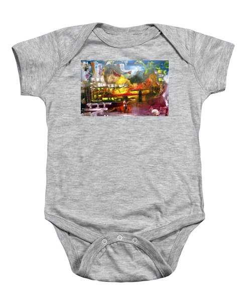 Have And Have Not Baby Onesie