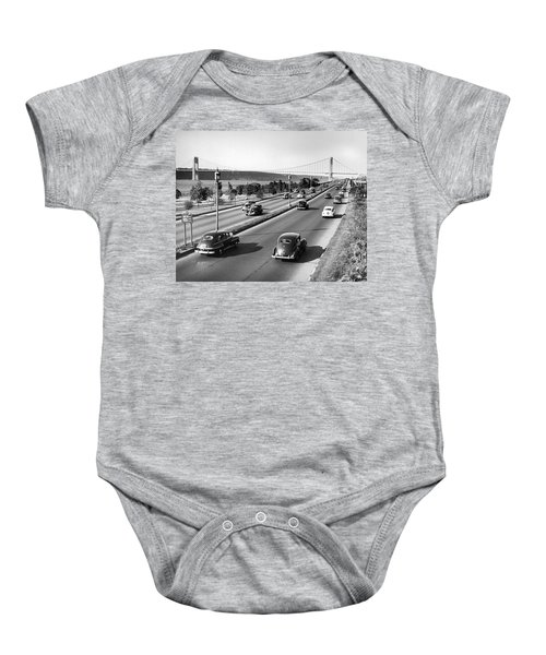 Henry Hudson Drive In New York Baby Onesie