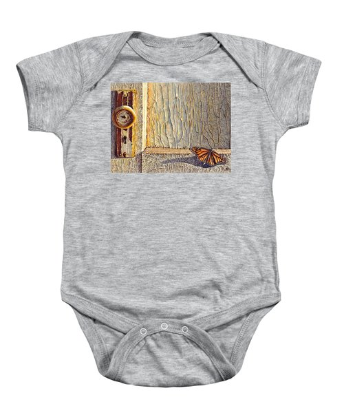 Her Wings Were Kissed By The Sun Baby Onesie