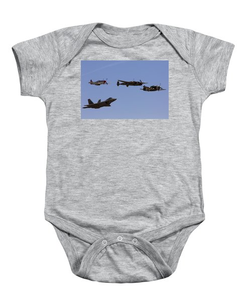 Heritage Flight Of Four Baby Onesie