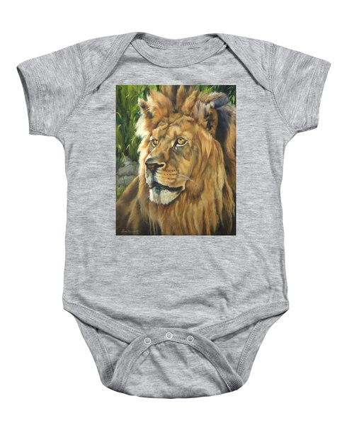Him - Lion Baby Onesie