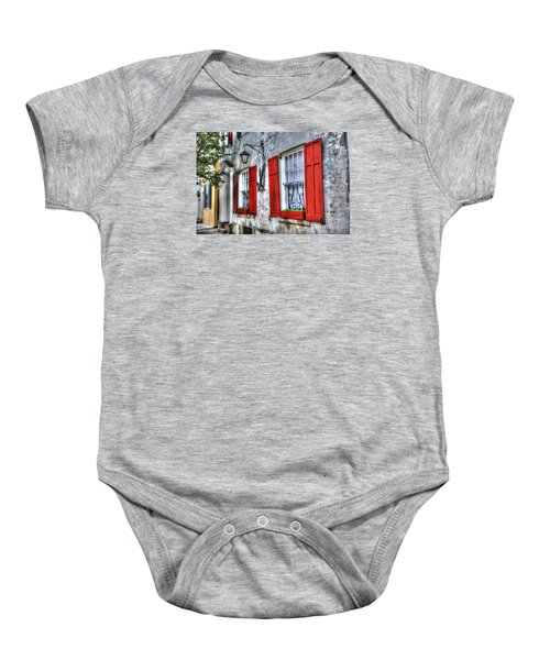 Historic Charleston Pirates House Baby Onesie