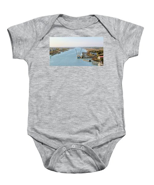 Holden Beach In Nc Baby Onesie