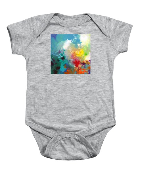 Holding The High Watch Canvas One Baby Onesie