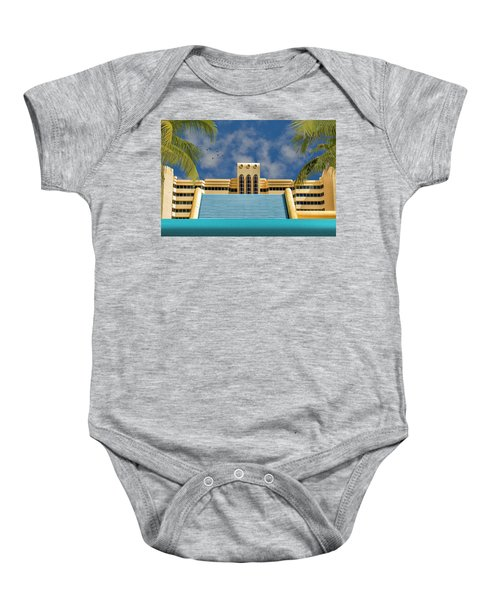 Home For The Winter Baby Onesie