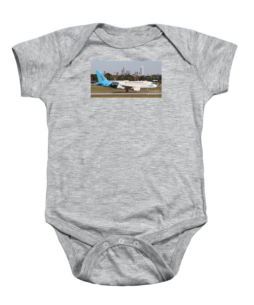 Home Of The Panthers Baby Onesie