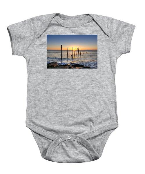Horizon Sunburst Baby Onesie