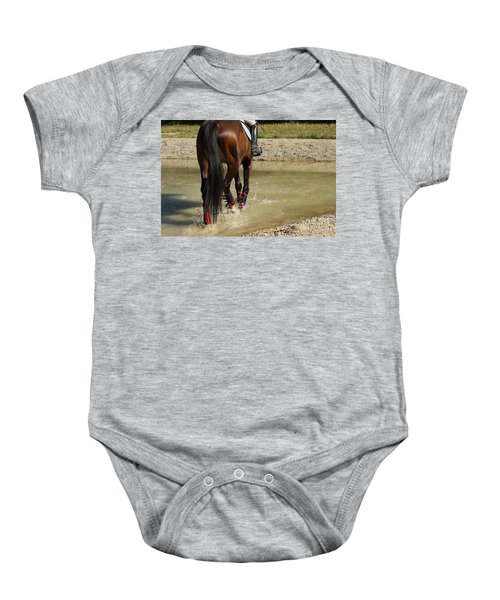 Horse In Water Baby Onesie