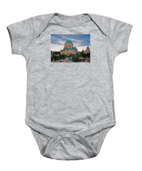 Fairmont Le Chateau Frontenac  Baby Onesie