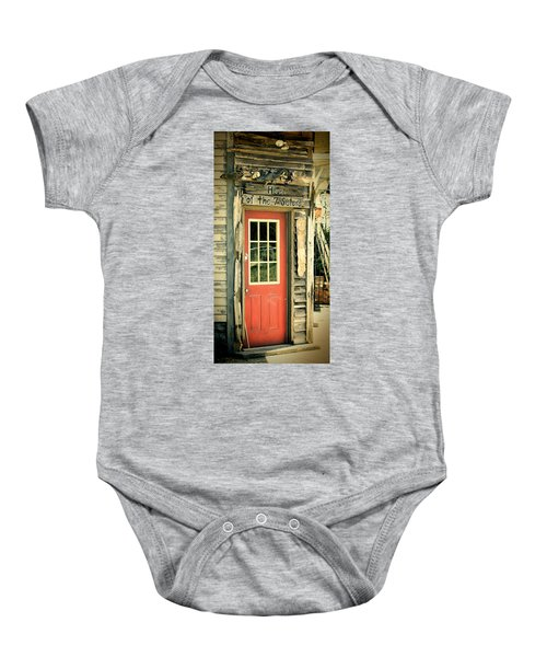 House Of The Seven Sisters Baby Onesie