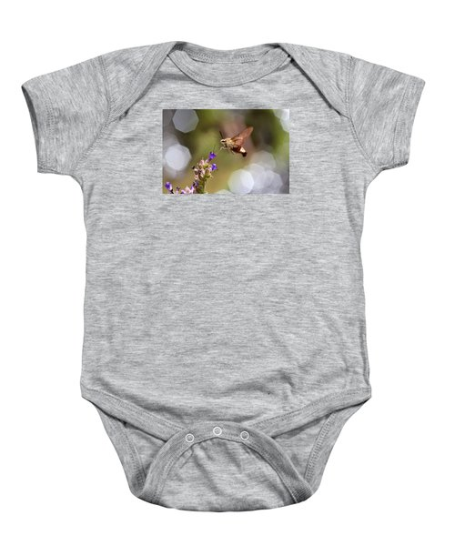 Hovering Pollination Baby Onesie