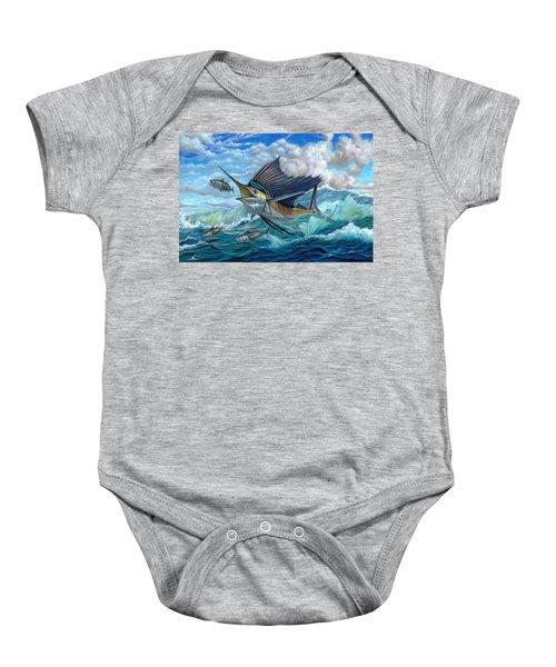 Hunting Sail Baby Onesie