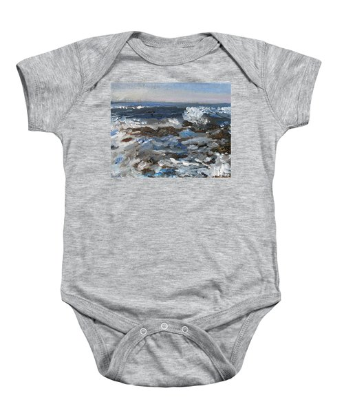 I'll Have A Water On The Rocks Please Baby Onesie