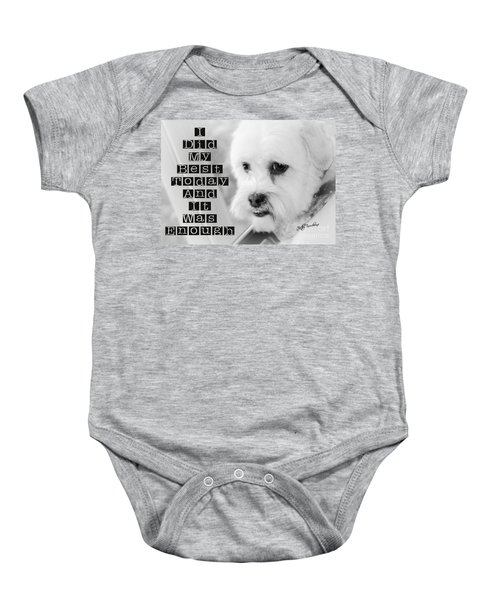 I'm Enough Baby Onesie