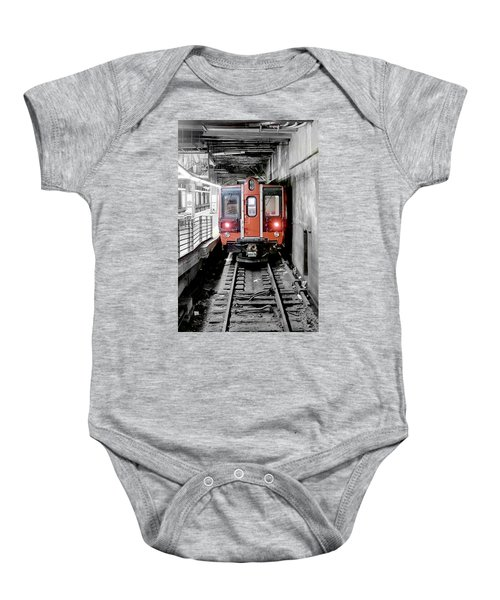 I'm Leaving On A Train Baby Onesie