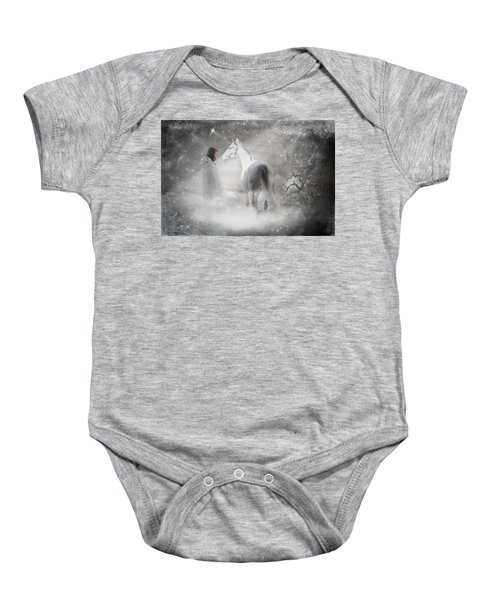 In Honor Of The Unicorn Baby Onesie