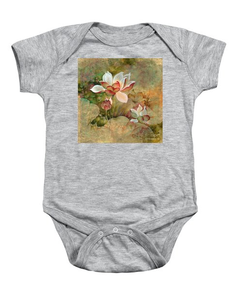 In The Lotus Land Baby Onesie