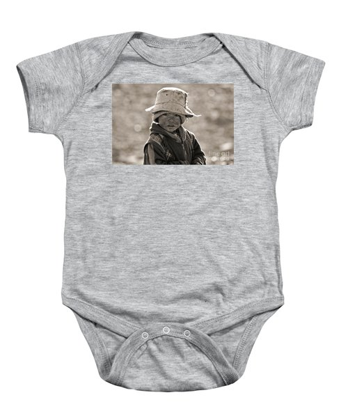 Hungry In The Middle Of Nowhere Baby Onesie