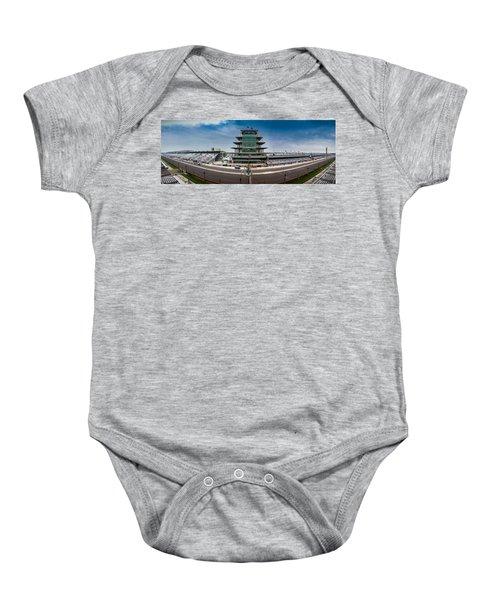 Indianapolis Motor Speedway Baby Onesie