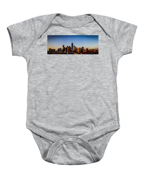Indianapolis Skyline - South Baby Onesie