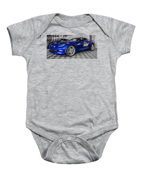 Indy 500 Corvette Pace Car Baby Onesie