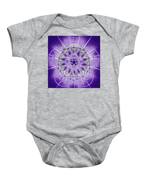 In'phi'nity Star-map Baby Onesie