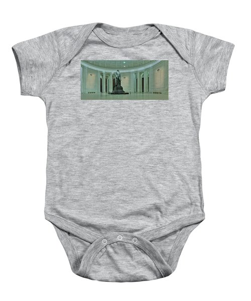 Inside The Jefferson Memorial Baby Onesie