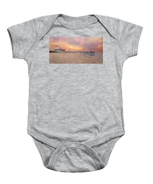 Inspirational Theater Old Orchard Beach  Baby Onesie