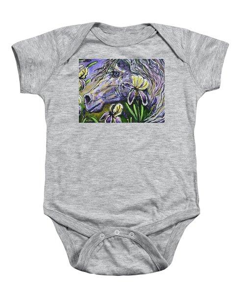 Iris Upon A Star Baby Onesie