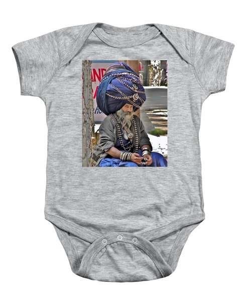 Its All In The Head - Rishikesh India Baby Onesie