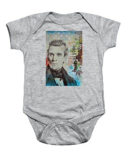 James K. Polk Baby Onesie