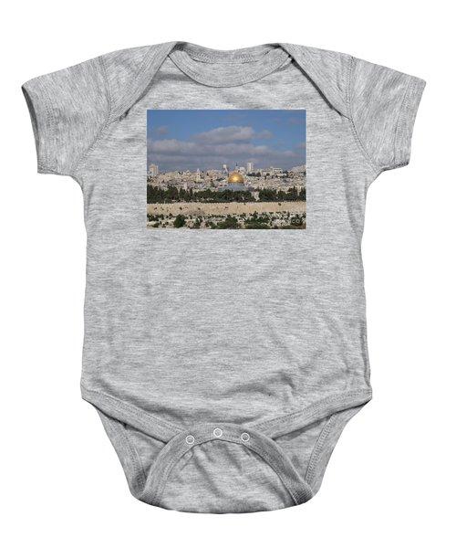 Jerusalem Old City Baby Onesie