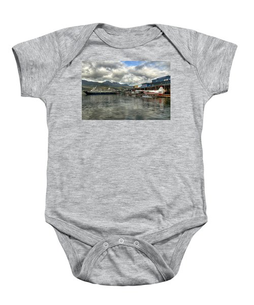 Juneau's Hangar On The Wharf Baby Onesie