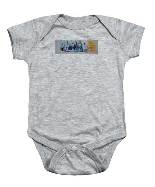 Just Another Day In New York City Baby Onesie