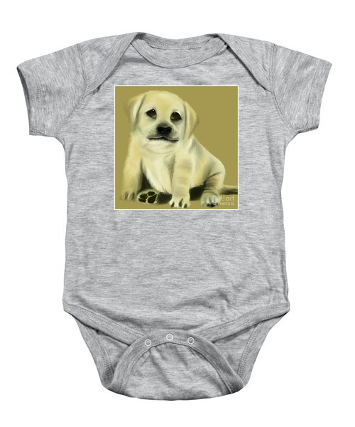 Just Love Me Please Baby Onesie