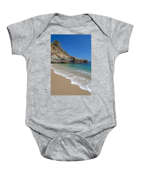 Keyhole Arch Laguna Beach Baby Onesie